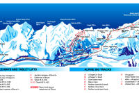 Mt Elbrus Piste Map