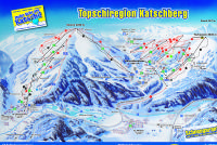 Topskiregion Katschberg Trail Map