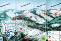 Lennestadt - Hohe Bracht Piste Map