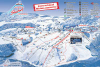 Postwiesen Skigebiet Neuastenberg Pistekaart