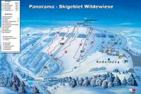 Skigebiet Wilde Wiese Trail Map