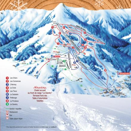 Cordon Trail Map