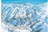 Pralognan la Vanoise Mapa zjazdoviek