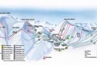 Glenshee Mapa zjazdoviek