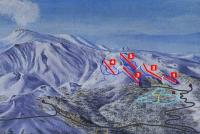 Etna Nord - Linguaglossa Piste Map
