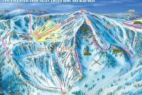 Bear Valley Piste Map
