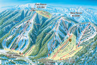 Mountain High Piste Map