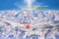 Schladming - Planai - Hochwurzen Piste Map