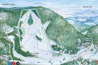 Drienica Piste Map