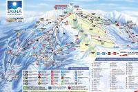 Jasna Tatry Niskie (Chopok) Mapa tras