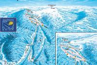Kojšovská Hoľa Trail Map