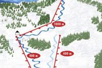 Litmanová Piste Map