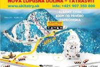 Svit - Lopušná dolina - Skitatry Trail Map