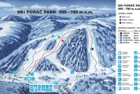 Poráčska dolina Trail Map
