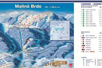 Ruzomberok - Malino Brdo Trail Map