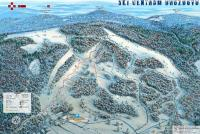 Ski centrum Drozdovo Trail Map
