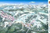 Ski Oravská Lesná Piste Map