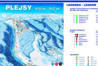 Plejsy Piste Map