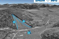 Snow sun Vadičov Plan des pistes