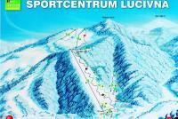Športcentrum Lučivná Piste Map