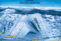 Zuberec - Milotín - Janovky Trail Map
