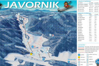 Javornik Trail Map