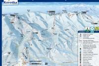 Kope - Ribniško Pohorje  Mapa zjazdoviek