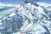 Réallon Piste Map