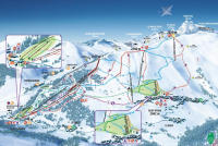 Saint Véran Piste Map