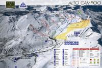 Alto Campoo Mapa zjazdoviek