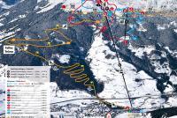 Vipiteno - Monte Cavallo - Rosskopf Mappa piste