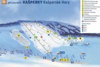 Kašperské Hory Piste Map