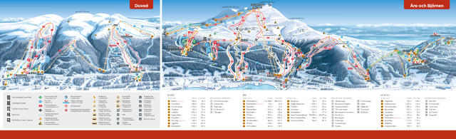 Åre Trail Map