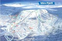 Idre Fjäll Mapa zjazdoviek
