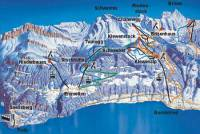 Beckenried - Klewenalp Piste Map