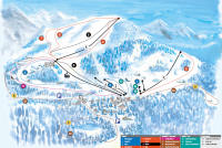 Giswil - Mörlialp Piste Map