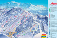 Atzmännig Goldingen Piste Map