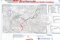 Brotterode Trail Map