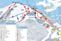 Passo Brocon-Marande (Funivie Lagorai) Trail Map