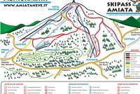 Monte Amiata Mapa zjazdoviek
