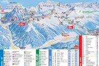 Alpe Lusia - Moena - Bellamonte Trail Map
