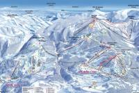 Beuil les Launes Trail Map