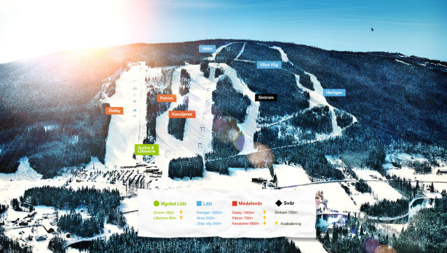 Ski Sunne Trail Map