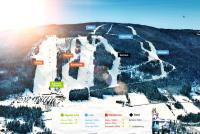 Ski Sunne Mapa tras