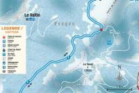 Le Grand Valtin Piste Map