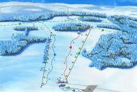 Olešnice na Moravě Mapa tras