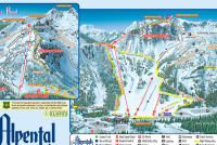 Alpental Piste Map