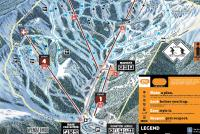 Mission Ridge Mappa piste
