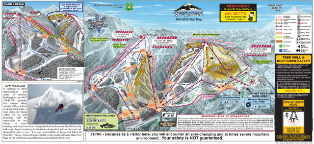 Mt. Baker Trail Map