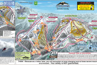 Mt. Baker Piste Map